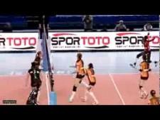 Madelaynne Montano in match Galatasaray - Busto Arsizio