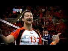 Michał Kubiak in match Jastrzębski Węgiel - Halkbank Ankara