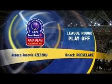 Resovia Rzeszów -  Knack Roeselare (full match)