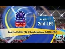 Copra Piacenza - Lube Banca Macerata (full match)