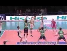 Todor Skrimov in match Latina - Cuneo