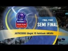 Jastrzębski Węgiel - Halkbank Ankara (full match)