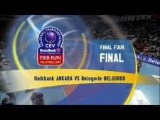 Halkbank Ankara - Belogorie Belgorod (full match)