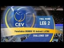 Fenerbahce Istanbul  - Andreoli Latina (full match)