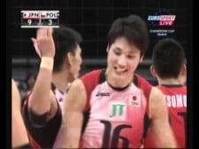 Japan nice action (Japan - Poland)