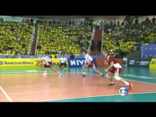 Brazil  - Poland (World League 2014, full game)