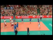 Mariusz Wlazły huge spike from 2nd line