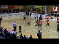 Acrobatic volleyball passing by Lauri Kerminen