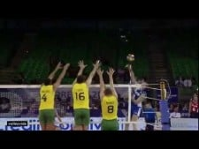 Alexey Spiridonov old school attack (Russia - Brazil)