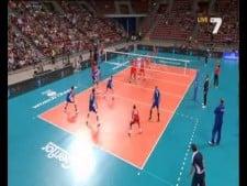 Tsvetan Sokolov huge serve (Bulgaria - Russia)