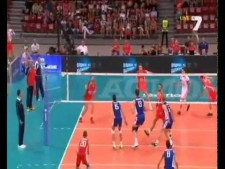 Tsvetan Sokolov spike on the triple block