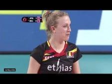 Lisa Van Hecke funny serve