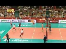 Bruno Rezende in match Brazil - Canada