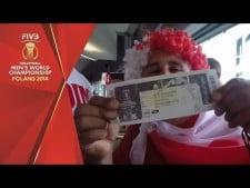Polish fans  in World Championship 2014