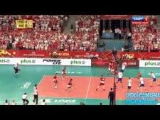 Mariusz Wlazły vs. Nikolay Pavlov (Poland - Russia)