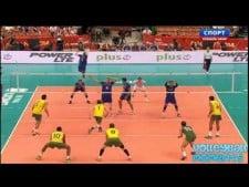 Ricardo Lucarelli vs. Earvin N'Gapeth (France - Brazil)
