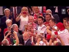 Polish fans celebration after World Champion title