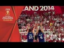 Brazil - Poland (Highlights, slow motion)