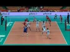 The best single blocks in World Championships 2014