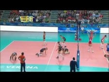 Long rally: Russia - Netherlands
