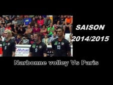 Narbonne Volley - Paris Volley (Highlights)