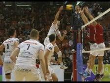 Vojvodina Novi Sad - Trentino Volley (Highlights)