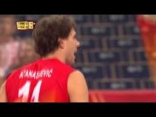 Aleksandar Atansijević serve 121 km/h
