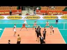 Georg Grozer - best server of World Championships 2014