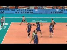 Raphael de Oliveira 2nd meter spike