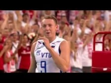 Mariusz Wlazły huge block on Alexey Spiridonov