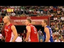 Sergey Grankin and Alexey Spiridonov great action