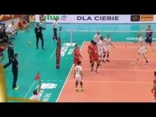 Earvin N'Gapeth in match France - Iran