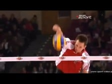 TOP10 Best Volleyball Spikes during warm-up