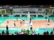 Libero (Daniele De Pandis) scored the point