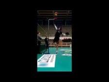 Matey Kaziyski high-reach (390cm)