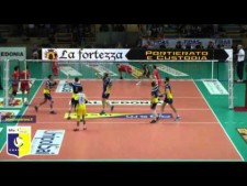 Taylor Sander in match Verona - Perugia