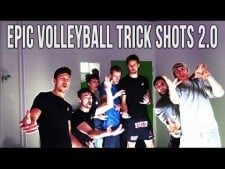 Volleyball trick shots: Knack Roeselare (2nd movie)