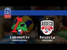 Lokomotiv Novosibirsk - Resovia Rzeszów (full match)
