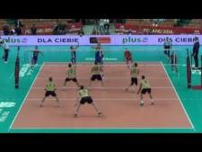 Single blocks in World Championships 2014