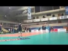 Trentino Volley training