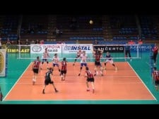Resovia Rzeszów - Friedrichshafen (Highlights, 2nd match)