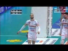 Matey Kaziyski spike (Trentino Volley - Sir Safety Perugia)