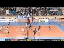 Gavin Schmitt in match Arkas Izmir - Galatasaray Istanbul