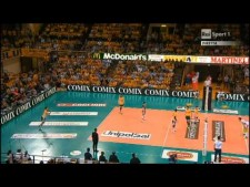 Nemanja Petrić and Luca Vettori vs Trentino Volley