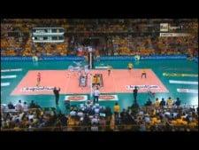 Mitar Djurić in  match Modena Volley - Trentino Volley