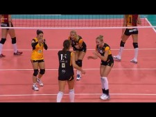 Logan Tom digs show in Top Volley International 2013