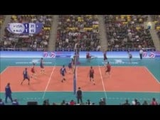 Volleyball Digs in World League 2015