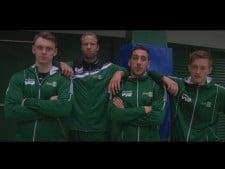 Volleyball trick shots: Södertelge VBK
