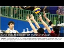South Korea - Japan (full match)