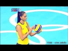 Jaqueline Carvalho in The Olympics 2012 (2nd movie)